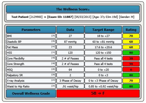 FX Wellness Score