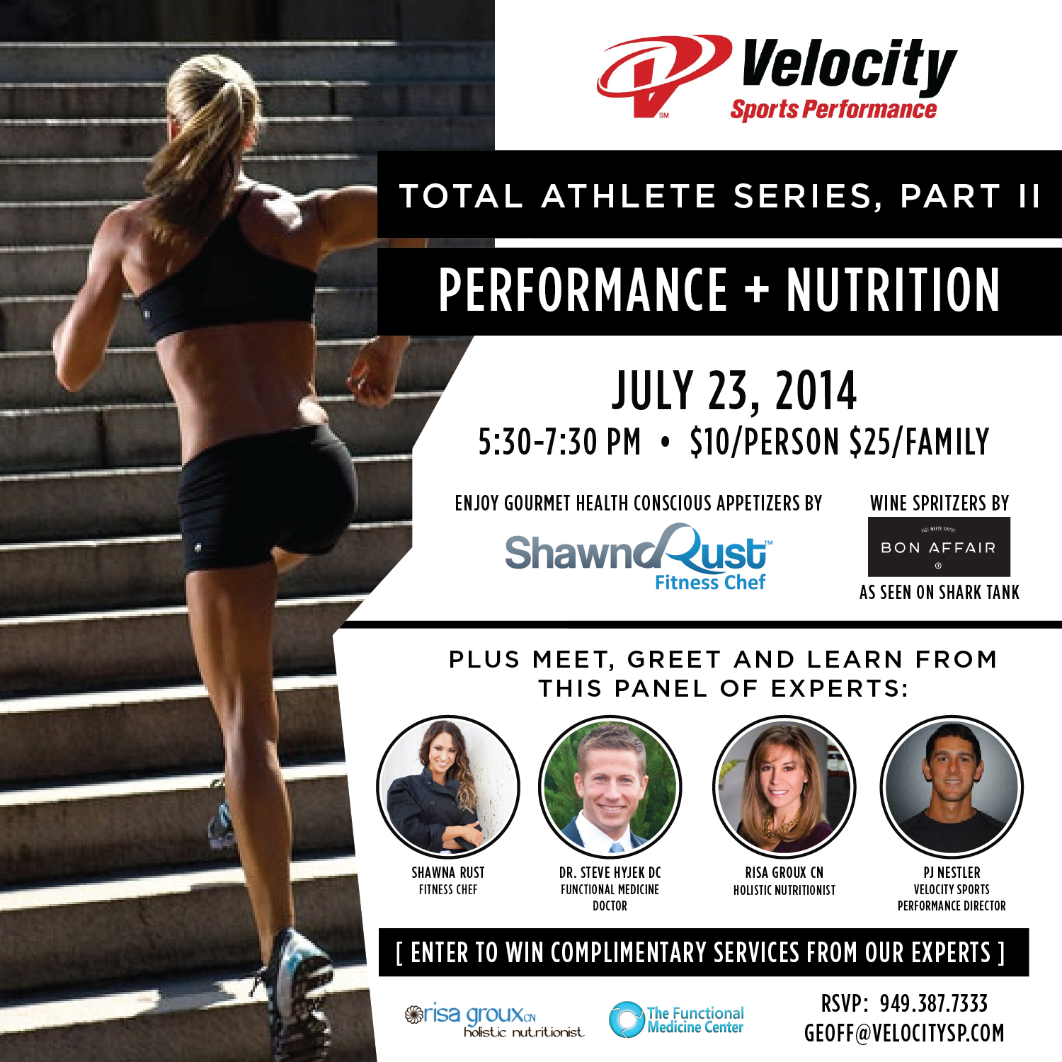 Velocity Nutrition and Performance Event